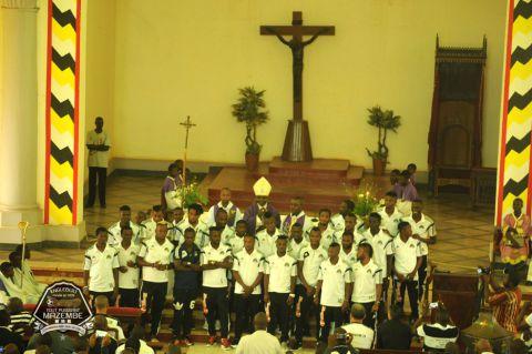 Supporteurs, joueurs et dirigeants, tous à Kafubu