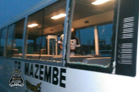 Asante injured, the bus of TPM destroyed!