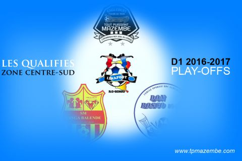 TPM, Sanga Balende et Don Bosco en play-offs