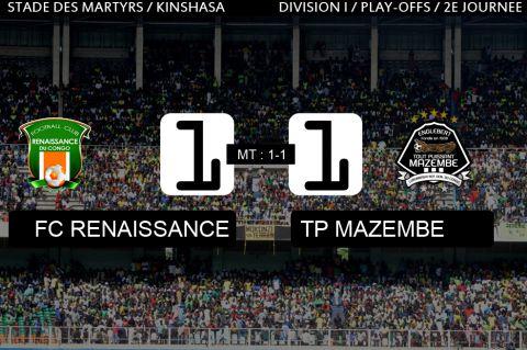 Score final FC Renaissance-TP Mazembe