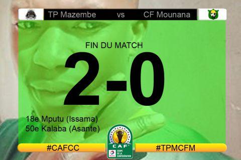 Score final TP Mazembe-CF Mounana