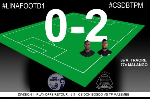 Score final CS Don Bosco-TP Mazembe