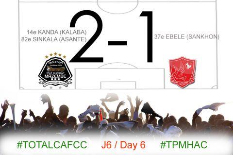 Score final TP Mazembe-Horoya AC