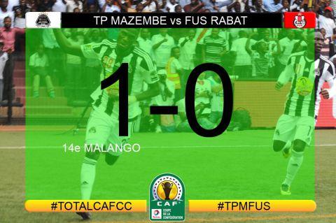 Score final TP Mazembe - FUS de Rabat