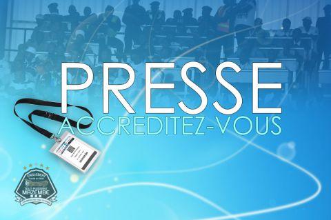 Médias : procédure d'accréditation ouverte!