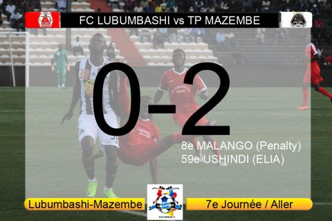 Score final FC Lubumbashi-TP Mazembe