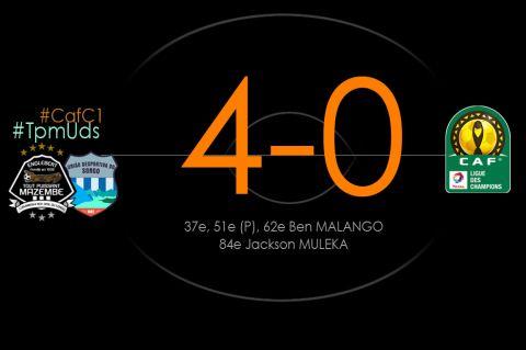 Score final TP Mazembe - UD do Songo