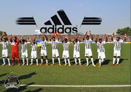 Adidas équipementier officiel du TP Mazembe