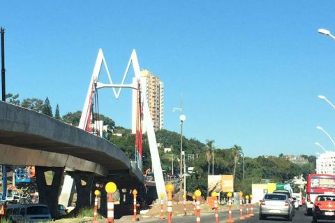 Un pont Mazembe à Porto Alegre