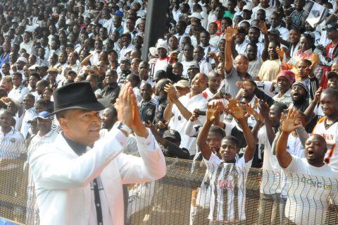 Le président KATUMBI en bonne santé