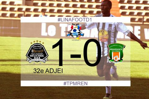 Score final TP Mazembe-FC Renaissance