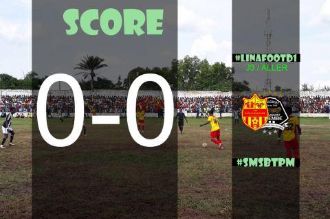 Score final SM Sanga Balende-TP Mazembe