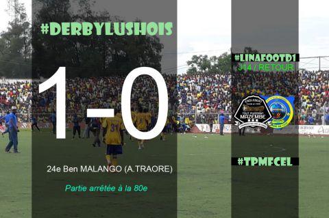 Résultat de TP Mazembe-FC Saint Eloi Lupopo