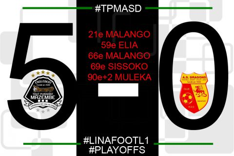 Score final TP Mazembe - AS Dragons