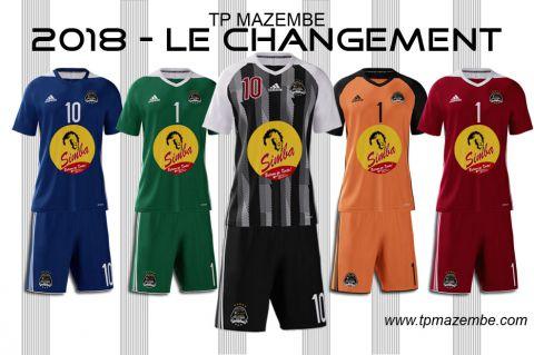 Nouveaux maillots pour la Ligue des Champions