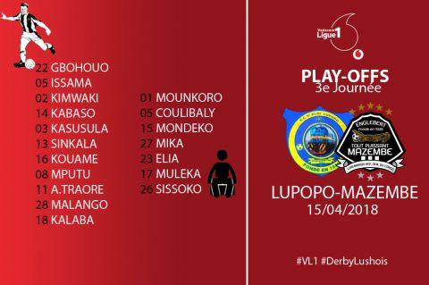 Dix Corbeaux sur les 11 de Mbuji-Mayi