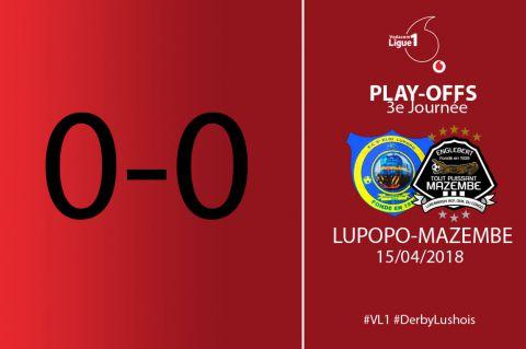 Score final FC Lupopo-TP Mazembe