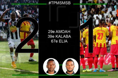 Score final TP Mazembe - SM Sanga Balende