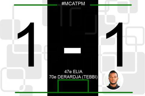 Score final MC Alger-TP Mazembe