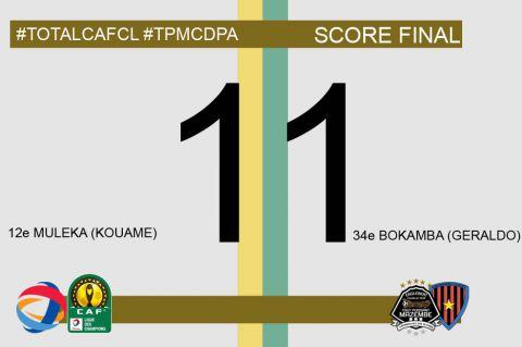 Score final TP Mazembe-CD Primeiro De Agosto