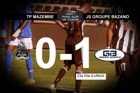 Score final TP Mazembe - JS Groupe Bazano