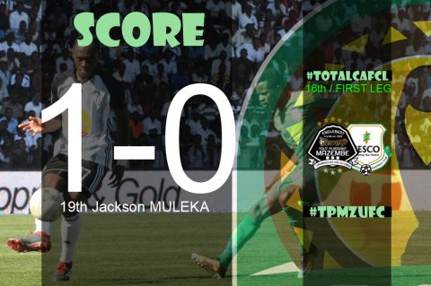 Final Score TP Mazembe - Zesco United FC