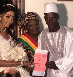 SISSOKO s'est marié à Bamako