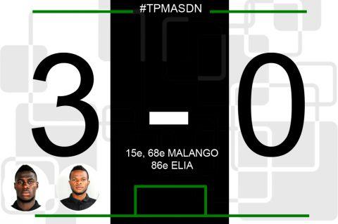Score final TP Mazembe - AS Dauphin Noir