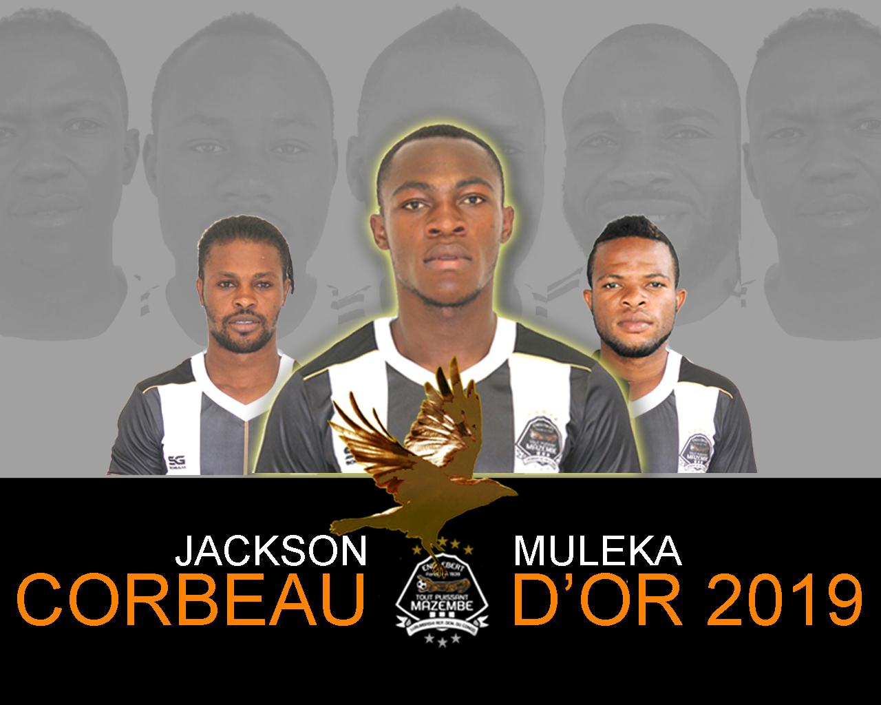 Jackson MULEKA Corbeau d'Or 2019