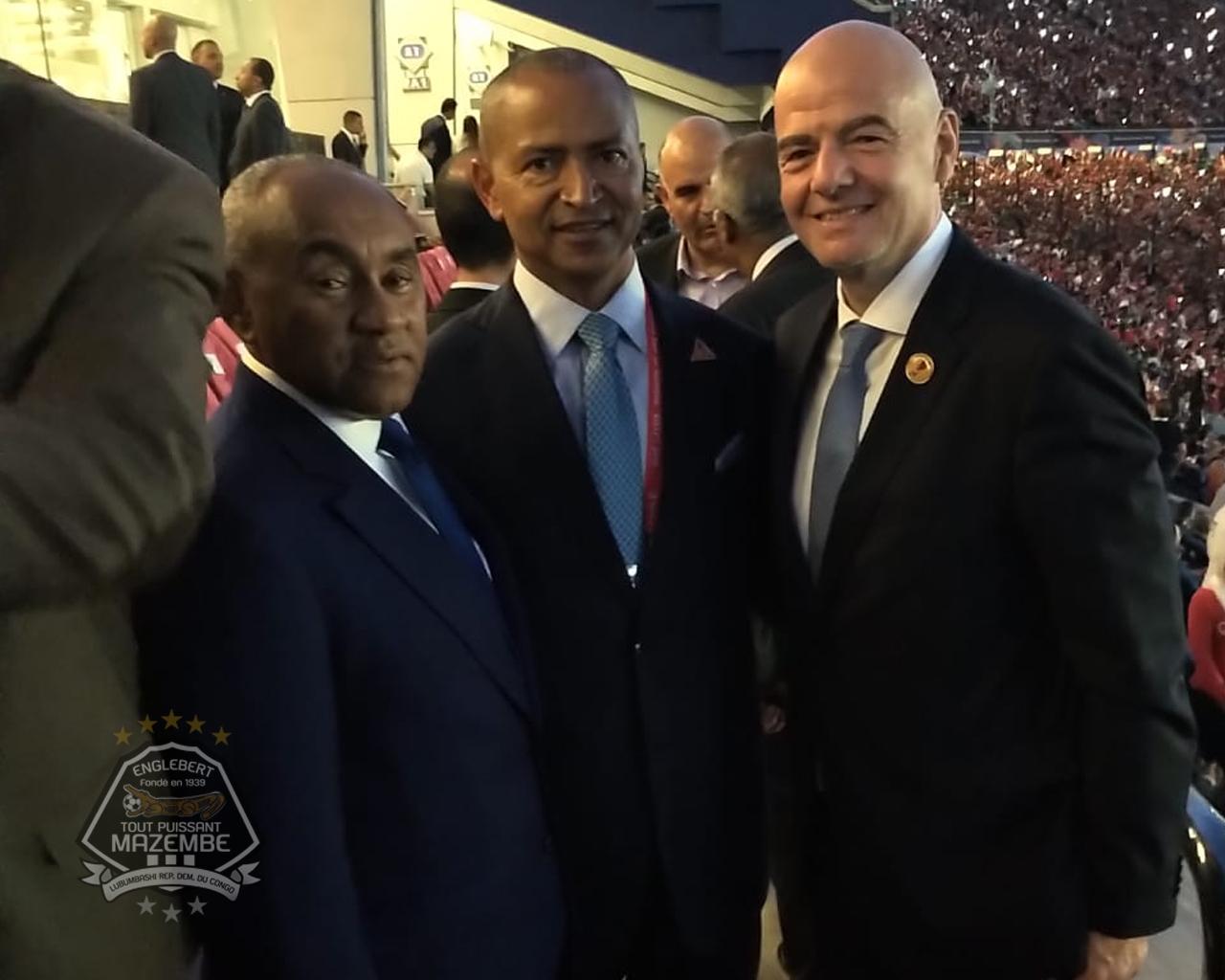KATUMBI : Coupe d'Afrique au Caire, Coupe du monde à Lyon