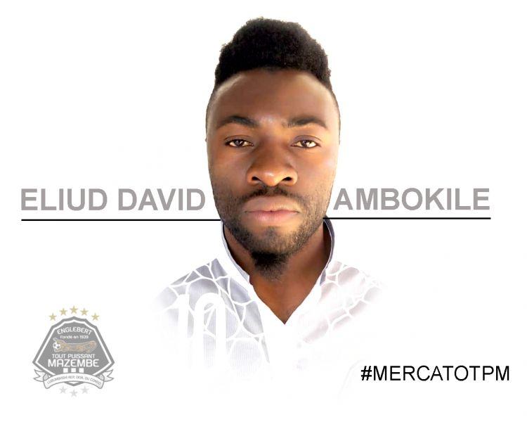 Eliud David AMBOKILE, le premier à signer!