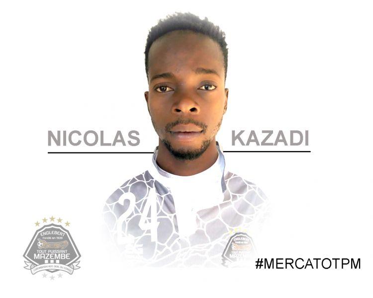 Le jeune international congolais Nicolas KAZADI OKITO a signé !