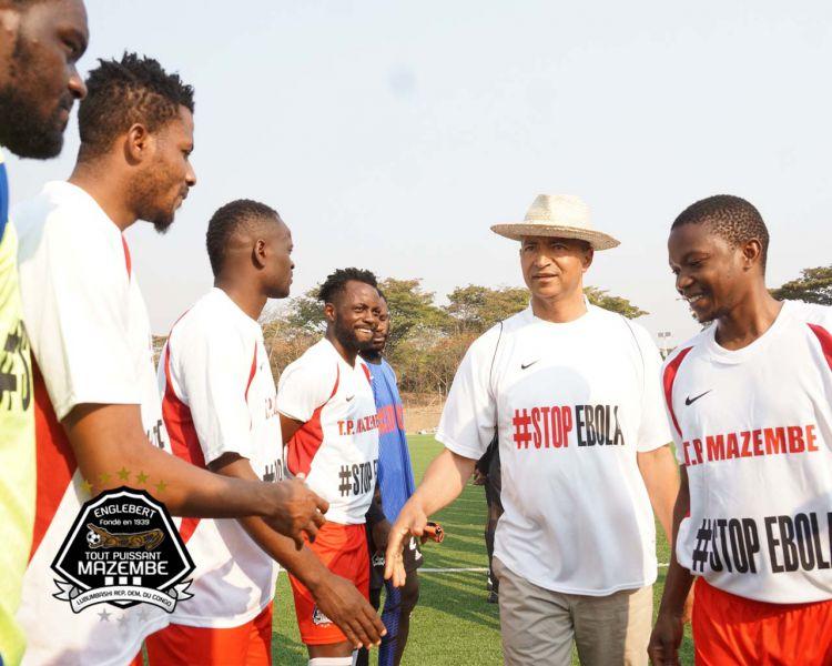 Le TP Mazembe veut aider les Congolais à vaincre EBOLA