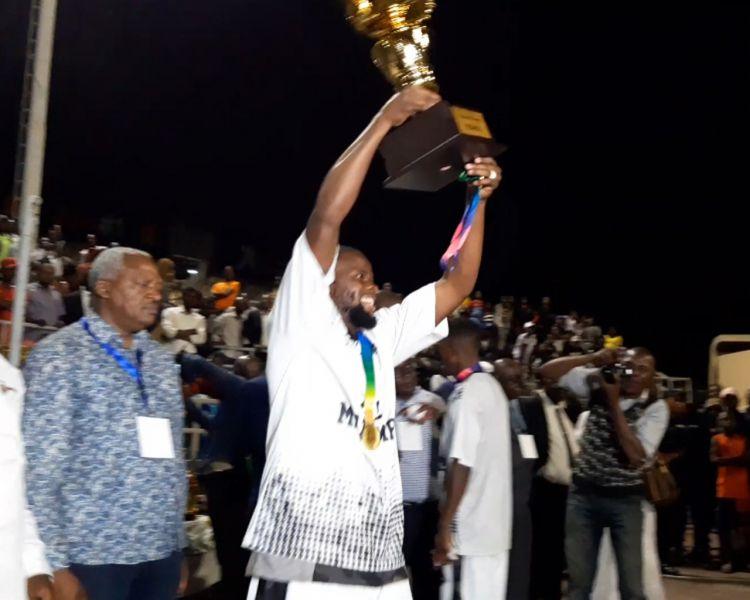 Moïse KATUMBI : « Fier que Mazembe soit aussi champion au Basket »