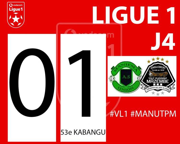 Score final AS Maniema Union-TP Mazembe