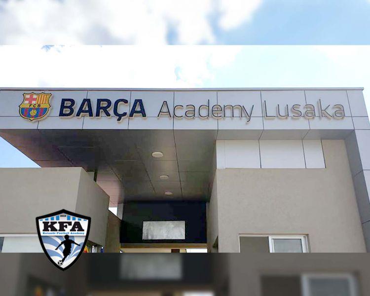 La Katumbi Football Academy est à Lusaka