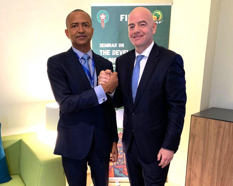 Le Chairman KATUMBI revient du Maroc