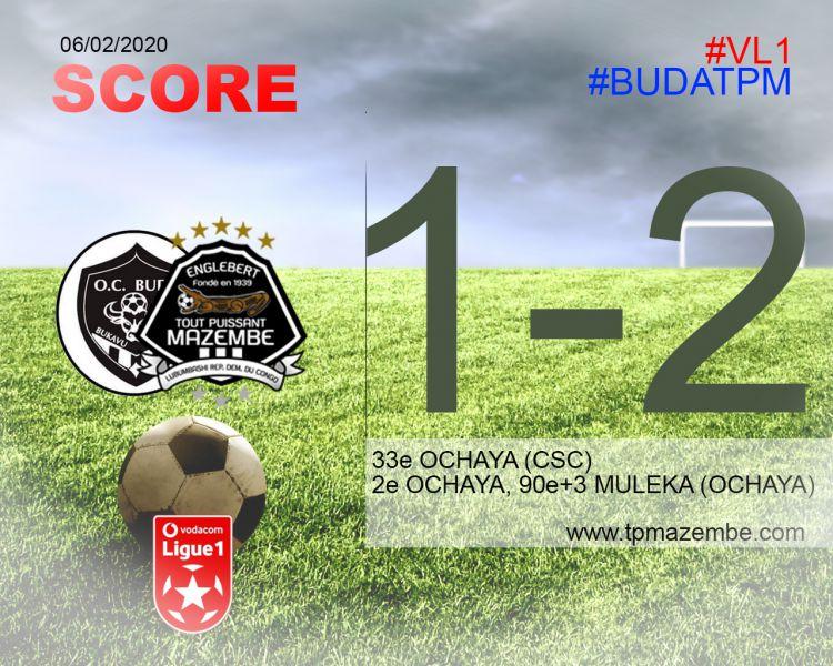 Score final OC Bukavu Dawa-TP Mazembe