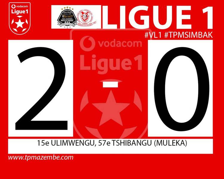 Score final TP Mazembe-FC Simba Kamikaze