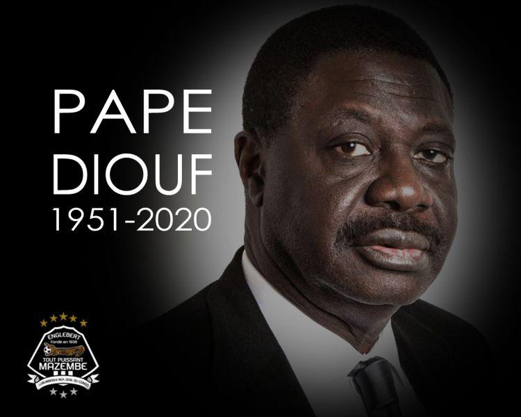 Le Chairman KATUMBI pleure Pape DIOUF