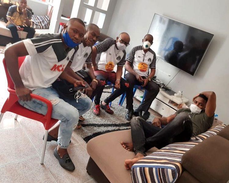 La section Angola/Luanda est allée réconforter Bobo UGENDA