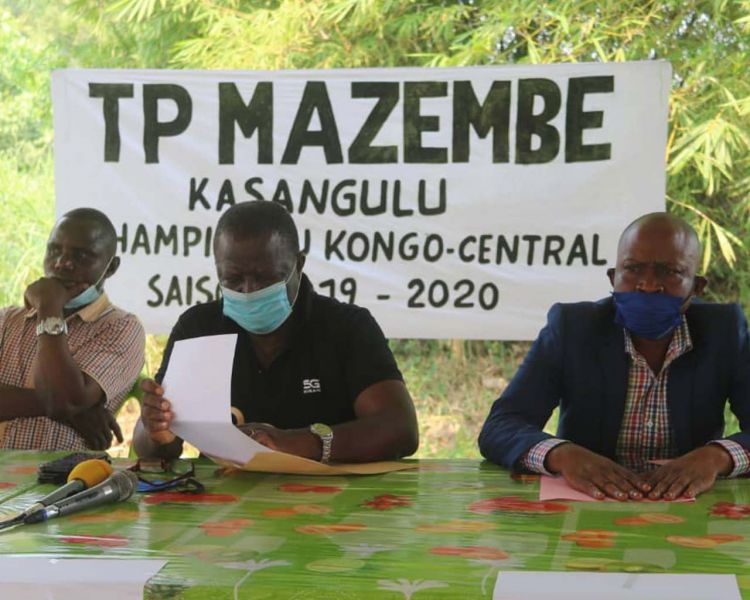 Un bus offert au TP Mazembe Kasangulu