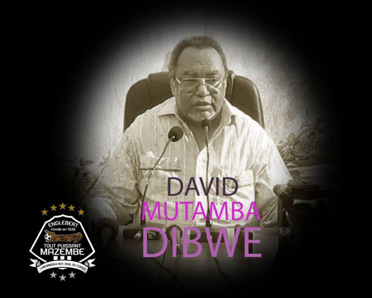 David MUTAMBA DIBWE n'est plus