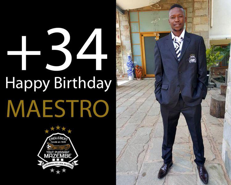 Joyeux anniversaire au capitaine Rainford KALABA
