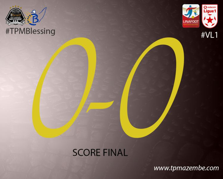 Score final TP Mazembe-Blessing FC