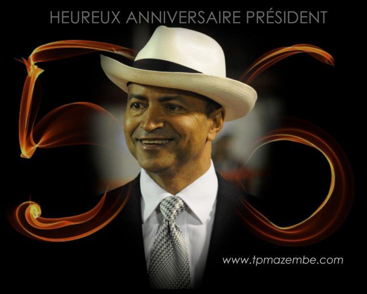 « Bon anniversaire Chairman ! »