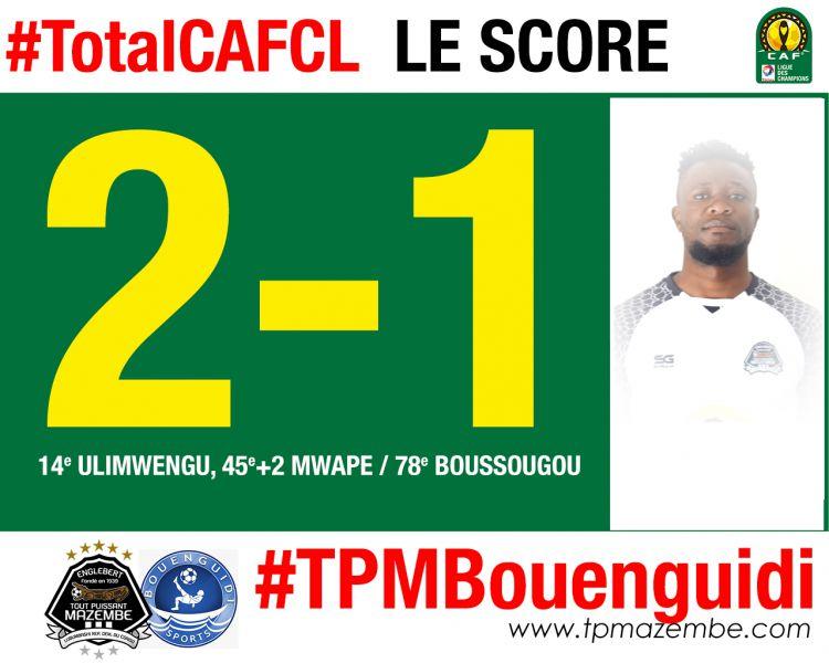 Score final TP Mazembe-Bouenguidi Sports
