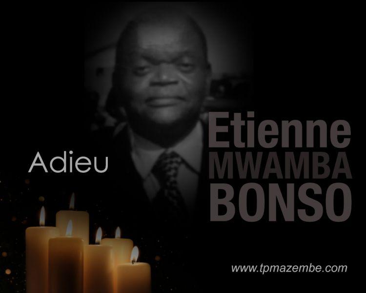 Le TPM pleure Etienne MWAMBA BONSO