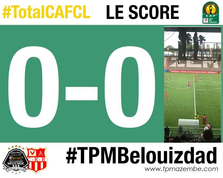 Score final TP Mazembe-CR Belouizdad