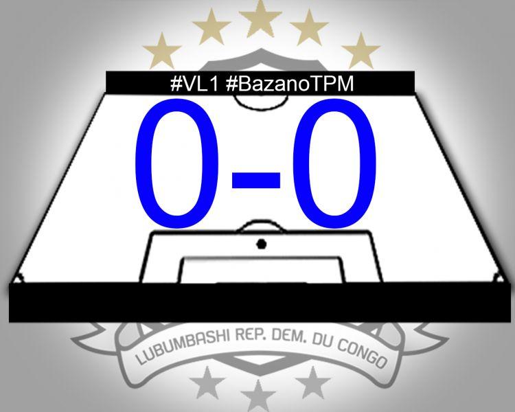Score final JS Groupe Bazano-TP Mazembe